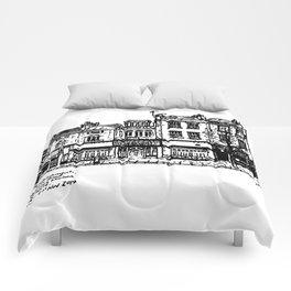 Three Establishments, Whiteladies Road, Bristol. Comforters
