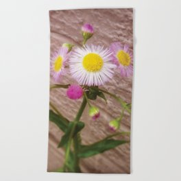 Urban Flower Beach Towel
