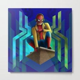 Peter Parker Metal Print