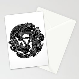 The Three Hares Stationery Cards
