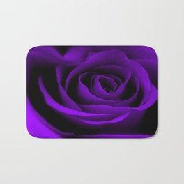 A Purple Rose Bath Mat