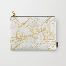 FLORENCE ITALY CITY STREET MAP ART Carry-All Pouch