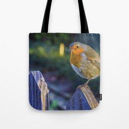 Christmas Robin. Tote Bag