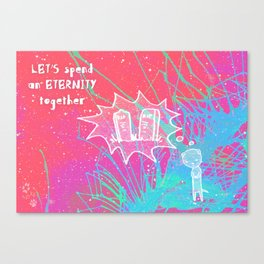Valentine's Canvas Print