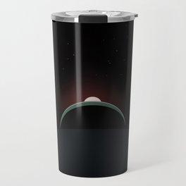 2001 Space Odyssey Sun, Earth, Moon Alignment Travel Mug
