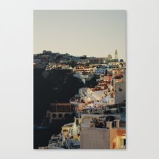 Fira at Dusk Canvas Print