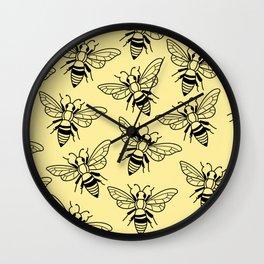 Honey, Bee Kind Wall Clock