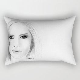 Avril Lavigne Rectangular Pillow