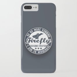 Misbehave Badge V1 iPhone Case