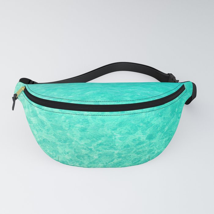 Turquoise Blue Ocean Fanny Pack