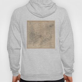 Vintage Map of Athens Greece (1841) Hoody