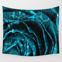 Nuclear Winter Rose Wall Tapestry