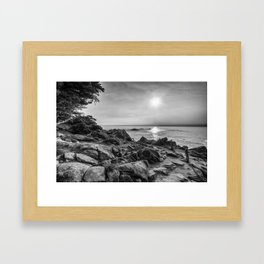 A Beautiful Path Framed Art Print
