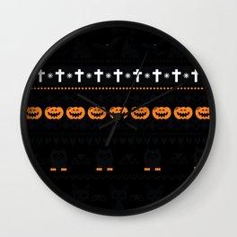 Halloween T Shirts - Halloween Sweater - Halloween Hoodie Wall Clock