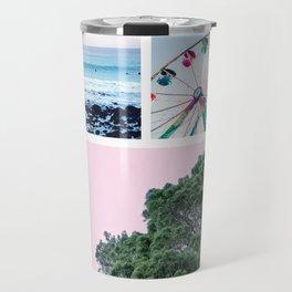 Summer Carnival Collage Travel Mug