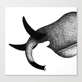 Maasai Tusks Canvas Print
