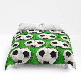 Soccer Ball Football Pattern Comforters