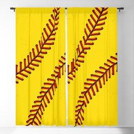 Fast Pitch Softball Blackout Curtain