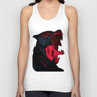 the hound Tank Tops featuring The Hound by Harry Martin