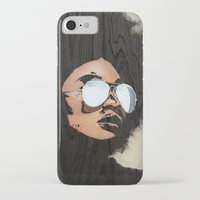 afro iPhone & iPod Cases featuring Venus Afro by Vin Zzep