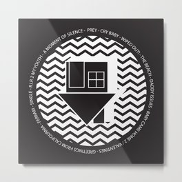 NBHD Wiped Out! Metal Print