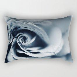 Rose - powder blue Rectangular Pillow