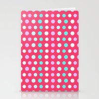 polka dots Stationery Cards featuring Polka Dots by Ornaart