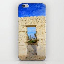 Gate of Faith iPhone Skin