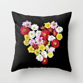 Bunch of Love  Throw Pillow