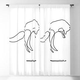 jumping FOX Blackout Curtain