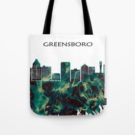 Greensboro Skyline Tote Bag