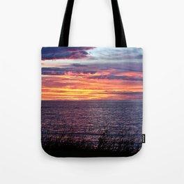 Sunset Delight in Sainte-Anne-Des-Monts Tote Bag