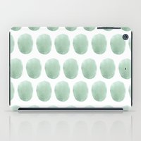 polkadot iPad Cases featuring Watercolour polkadot by Mouseblossom