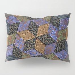 Tumbling Blocks #4 Pillow Sham