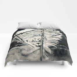 Wood Duck Feather Comforters
