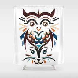 No Mystery Left Shower Curtain