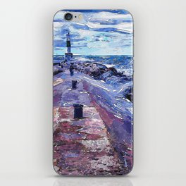 Lake Michigan Waves iPhone Skin