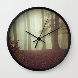 November Light Wall Clock