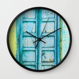 Doors of Rajasthan V Wall Clock