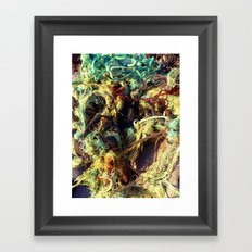 old rope Framed Art Print