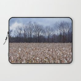 Field of Corn left Behind Laptop Sleeve