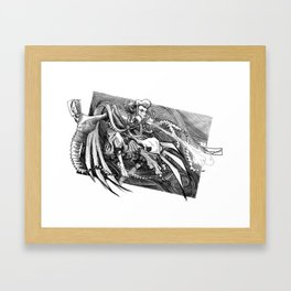 Swift Mailcall Framed Art Print