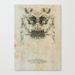 Skulloid I Canvas Print