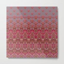 Farah Blooms Red Metal Print