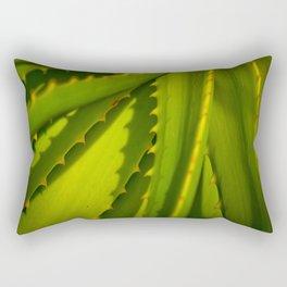 Aloe Arborescens Rectangular Pillow