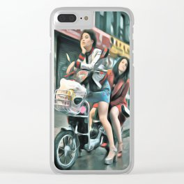 Broad City Clear iPhone Case