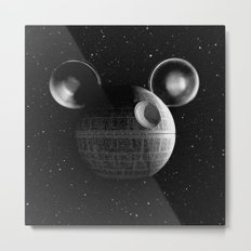 That's no moon... Disney Death Star Metal Print