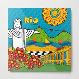 Rio de Janeiro 2015 Metal Print