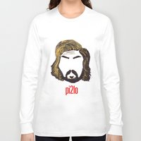 pirlo Long Sleeve T-shirts featuring Pirlo 21 by wearwolves