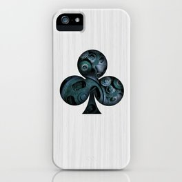Steampunk Ace - Club iPhone Case